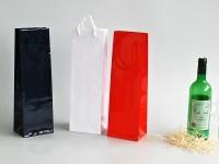 papírové tašky na víno standard