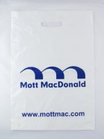 igelitová taška Mott MacDonald