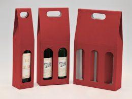 hotová dárková krabice na víno