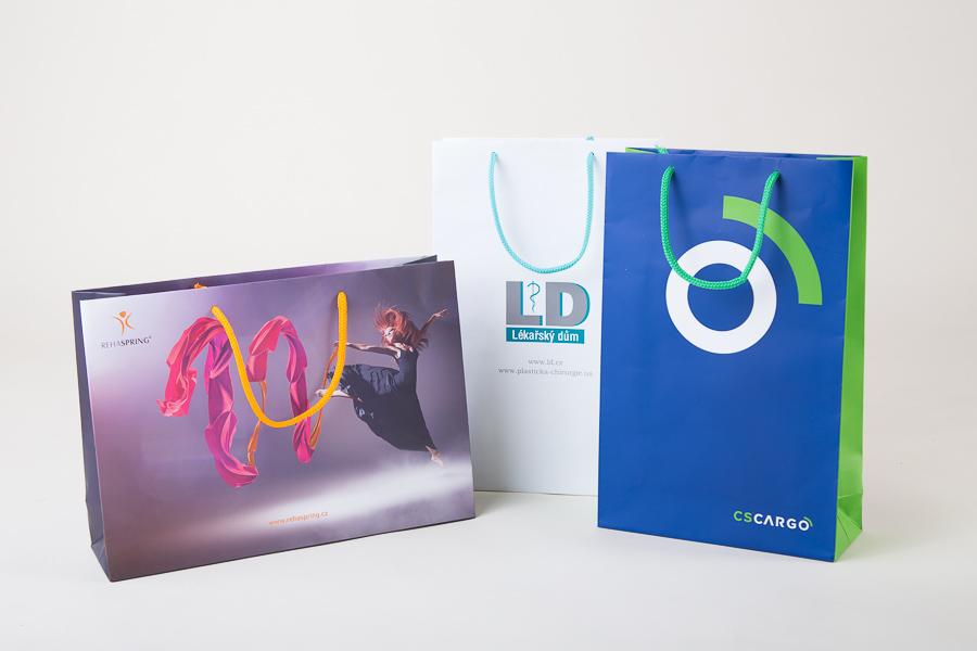 reklamní papírové tašky s potiskem