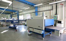 sítotiskové tiskařské stroje