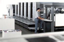 Většinu tisků realizujeme na špičkových strojích Heidelberg.