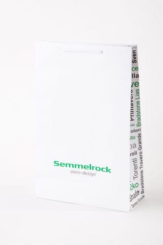 luxusní zakázková papírová taška s potiskem