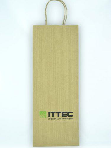hotové skladové papírové tašky s potiskem